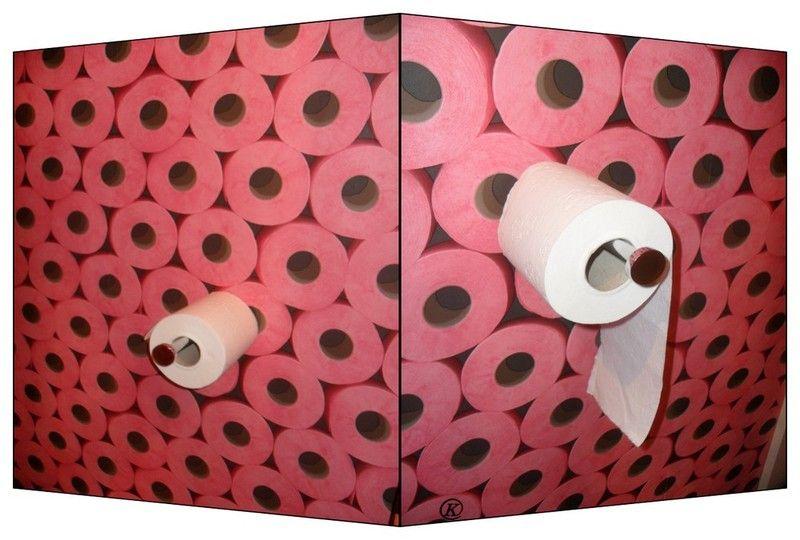 Papier wc effet d 39 optique - Papier peint a effet d optique ...